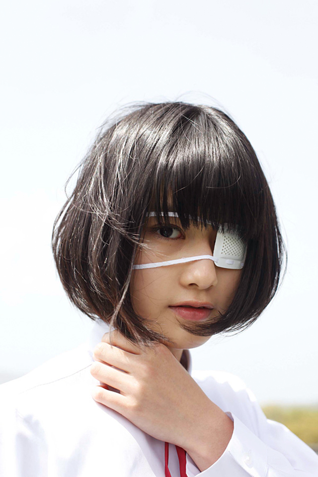 橋本愛 眼帯