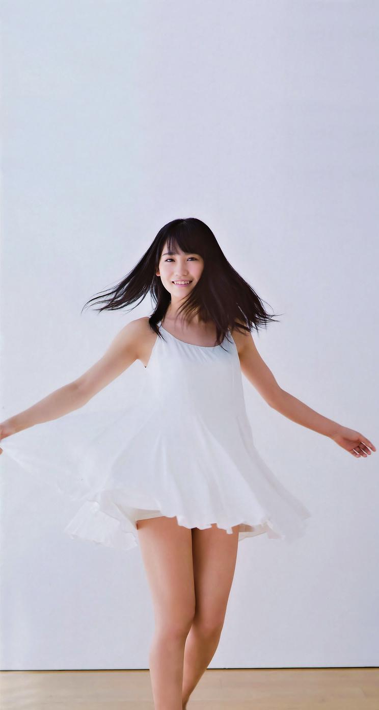 きれいな髪のの小嶋真子さん
